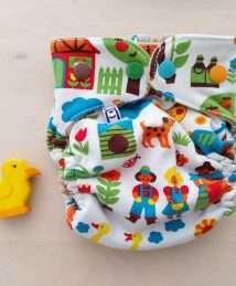 Bäenkind Wool Cover Newborn - Farm byGraziela
