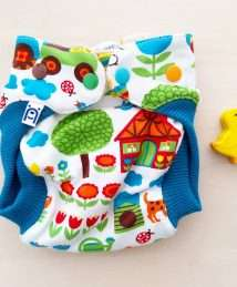 Bärenkind Newborn Wool Cover with wool cuffs - Farm byGraziela