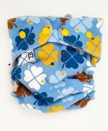 Bärenkind Wool Cover One Size - bygraziela Clover blue (2)