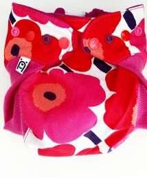 Bärenkind Wool Cover One Size with wool cuffs - Spirit of Unikko Marimekko (1)