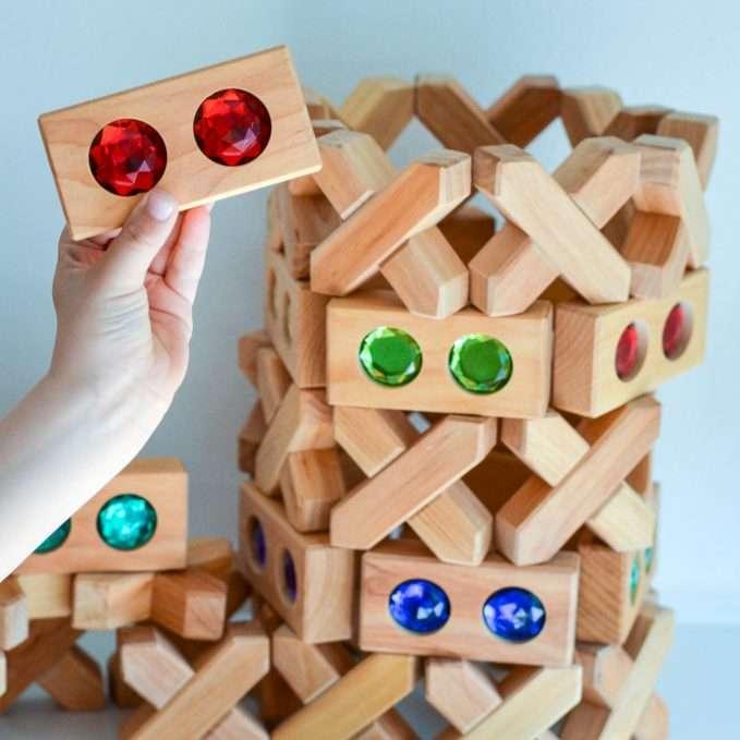 Bauspiel Colour Street and X-Blocks