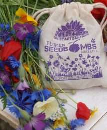 Die Stadtgärtner - Seedbombs linen bag set of 10 - Butterfly Delight