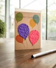 Die Stadtgärtner - greeting seed card - Happy Birthday