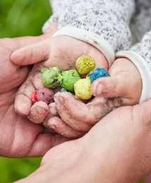 Die Stadtgärtnerei Colourful Seedbomb Marbles