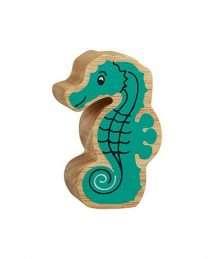 Lanka Kade Natural Turquoise Seahorse