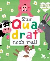 Magellan Knobelspiel Nastja Holtfreter Zum Quadrat noch mal! - Bauernhoftiere (1)
