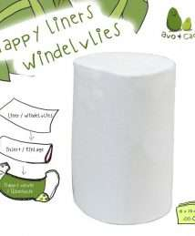 Avo&Cado Biodegradable Nappy Liners Bamboo