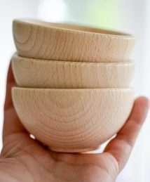 Bauspiel Wooden Bowl
