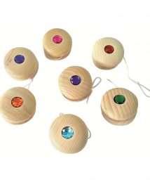 Bauspiel Wooden Yo-Yo