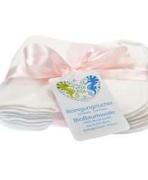 Blümchen Soft Organic Cotton Reusable Wipes (10 Pack)