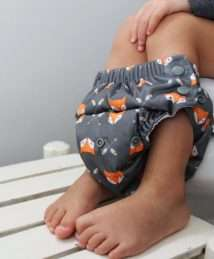 Buttons Diaper One Size Swim Diaper and Trainer - Sherwood