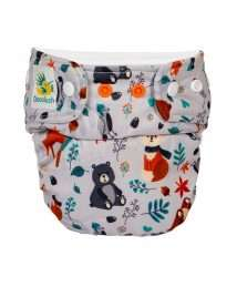 Doodush One Size Cover Snaps - Grey Forest