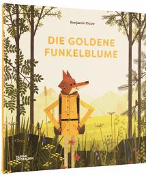 Kleine Gestalten. Benjamin Flouw Bilderbuch Die Goldene Funkelblume (2)