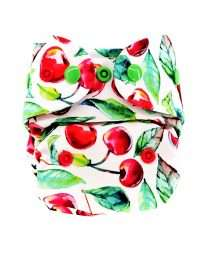 Little Birds Newborn AiO cloth nappy - Cherrish