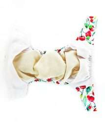 Little Birds One Size AiO cloth nappy - inside