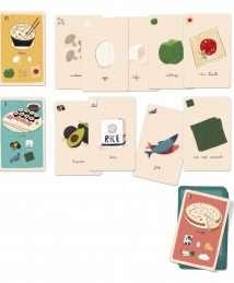 Londji Strategy Card Game A La Cuisine