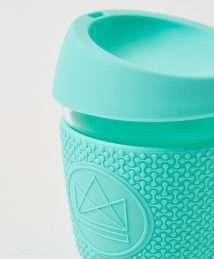 Neon Kactus Glass Cup - Free Spirit - Mint