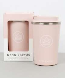 Neon Kactus Travel Mug (Flamingo - Pink)
