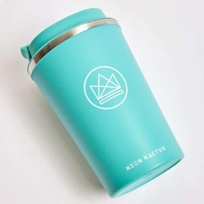 Neon Kactus Travel Mug (Free Spirit Mint)