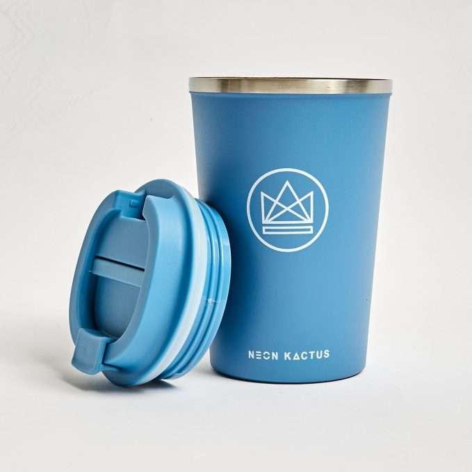 Neon Kactus Travel Mug (Super Sonic - Blue)