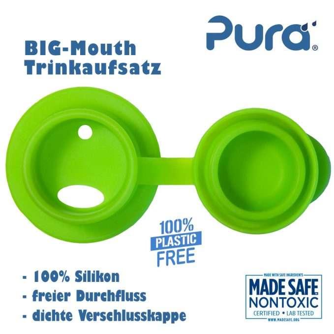 Pura Big Mouth® Silicone Sport Top