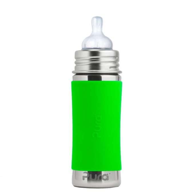Pura Kiki® Infant Bottle 325 ml - green