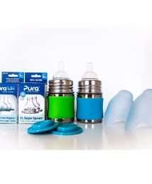 Pura Kiki® Infant Starter Set 125 ml - blue and green (3)