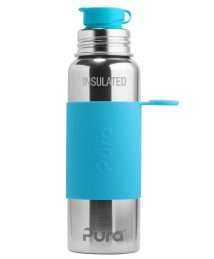 Pura Kiki Big Mouth® Sport Insulated Bottle (650 ml) - Aqua