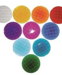 BS-03148 Bauspiel Sparkling Stones, transparent, 50 pieces