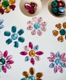 Bauspiel Glittering Sparkling Stones