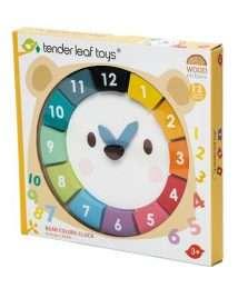 Tender Leaf Toys Bear Colours Clock