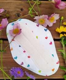 Boo&Boo regular sanitary pad - Hearts