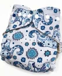 Boo&Boo Wonderfluff Wool Cover One Size - Elephants blue (1)