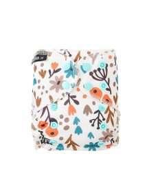 Eco Mini Newborn AIO Cloth diaper Tygblöjor Dreaming of Spring