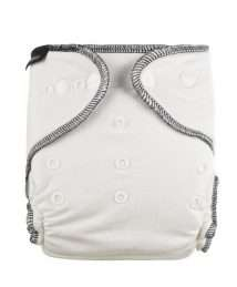 Eco Mini Fitted Diaper for Night Time One Size