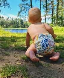 Eco Mini Onesize Cloth diaper Stoffwindel - Midsummer (3)