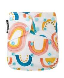 Eco Mini Onesize Cloth diaper Tygblöjor - Rainbow Nation
