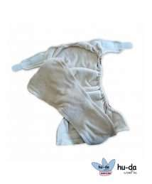 Hu-da Fitted Nappy Velour (One Size) inside