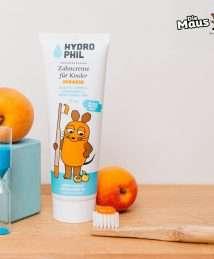 Hydrophil Kids Zahncreme Maus Aprikose 75ml (mit Fluorid) (4)