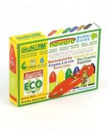 ökoNORM Wax Crayons Gnome (6 Colours)3