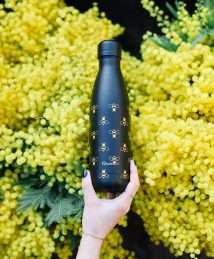 Qwetch Insulated Stainless Steel Bottle - Bees