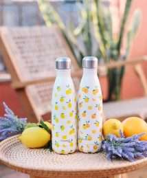 Qwetch Insulated Stainless Steel Bottle - Citrus Orange
