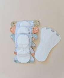 Bare and Boho AiO Soft Cover Set Habitat Diapers